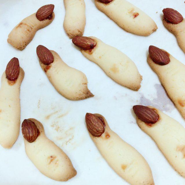 指クッキー