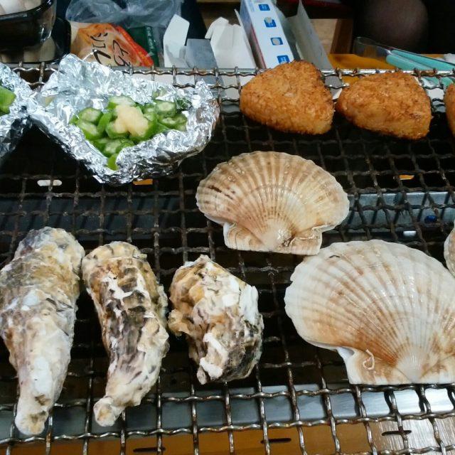 牡蠣\( ˙꒳˙ \三/ ˙꒳˙)/