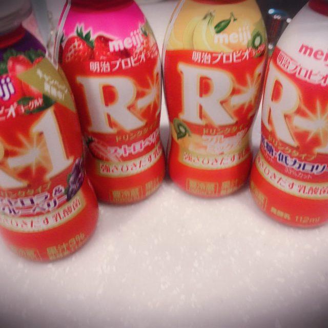 R-1と私と時々プリン♡