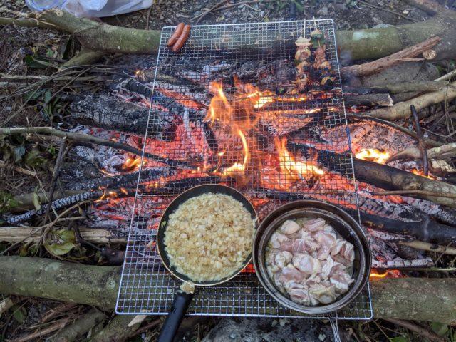キャンプ〜!